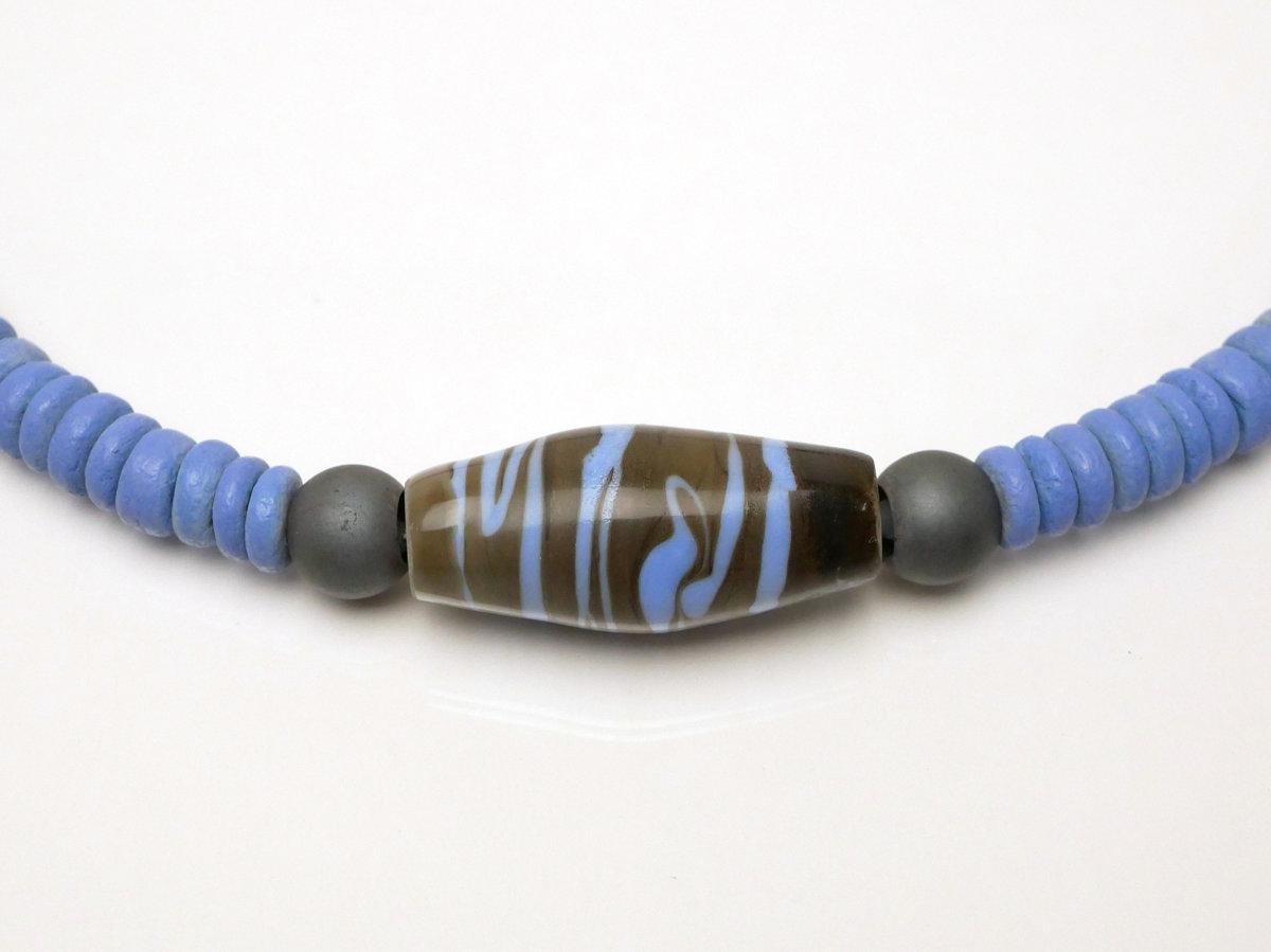 Vetro con coco blu