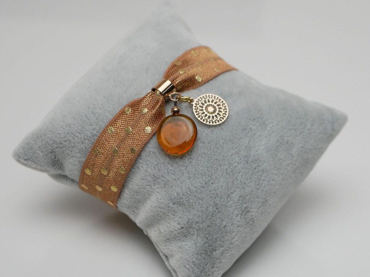 braccialetto elastico punti