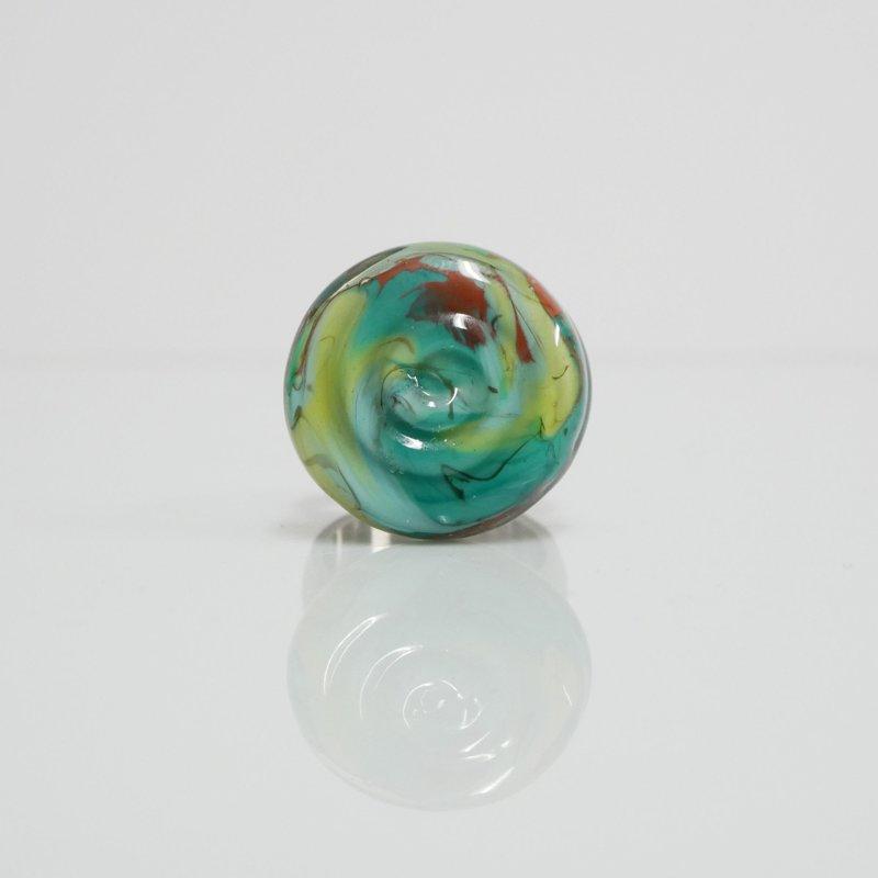 Ring Spirale grün