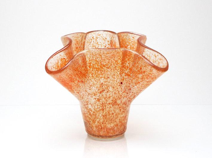 vaso rosso- arancione