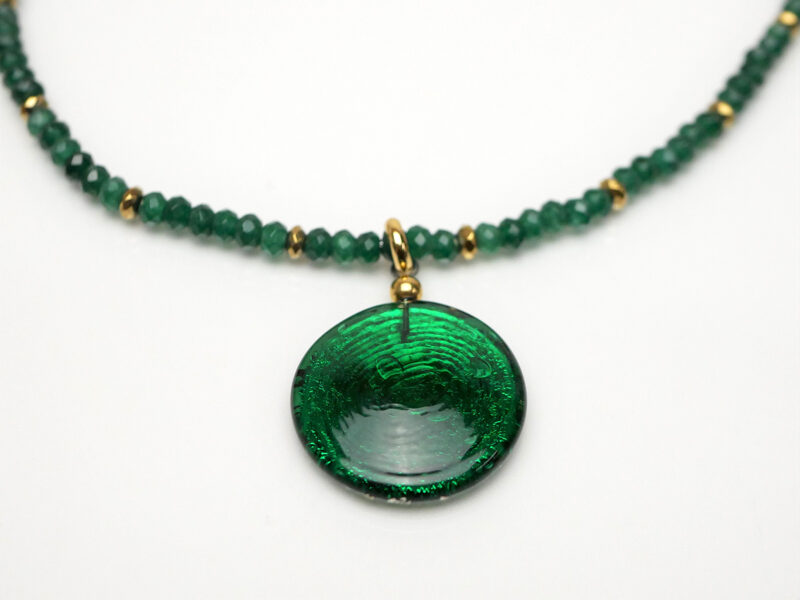 Kette Jade grün